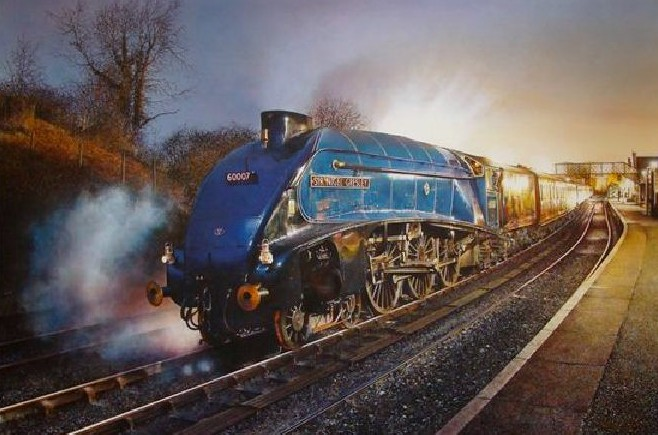 Train of pleasure sir christopher clark